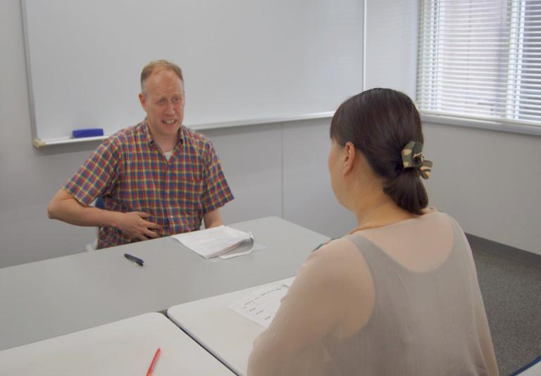 看護英語のセミナー風景2