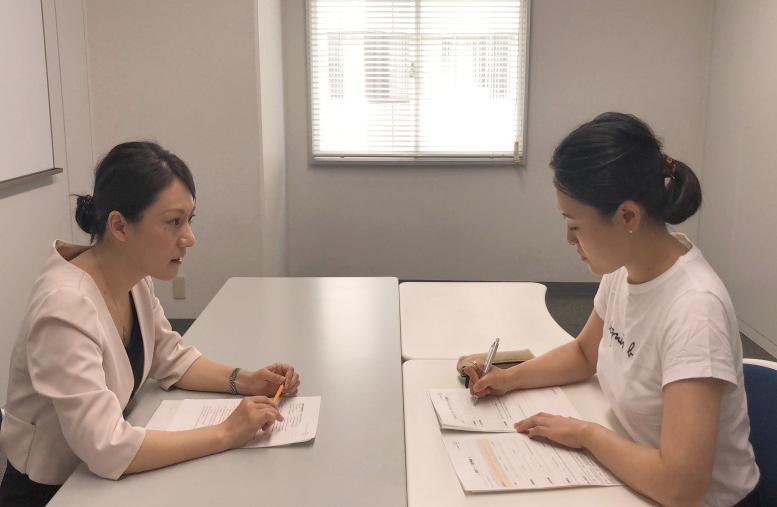 問診聴取 女性の患者